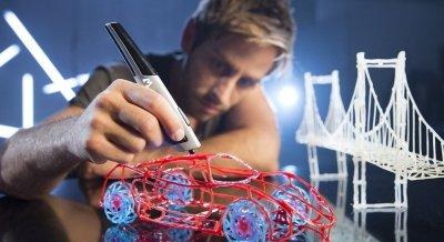 Акция! При покупке 3D ручки - набор картриджей в подарок